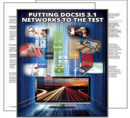 DOCSIS 3.1 deployment infographic