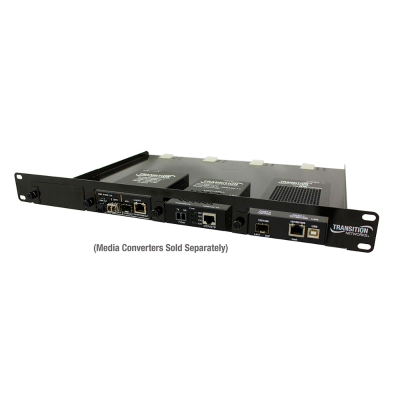 RMS19-SA4-02 4-Slot Media Converter Shelf