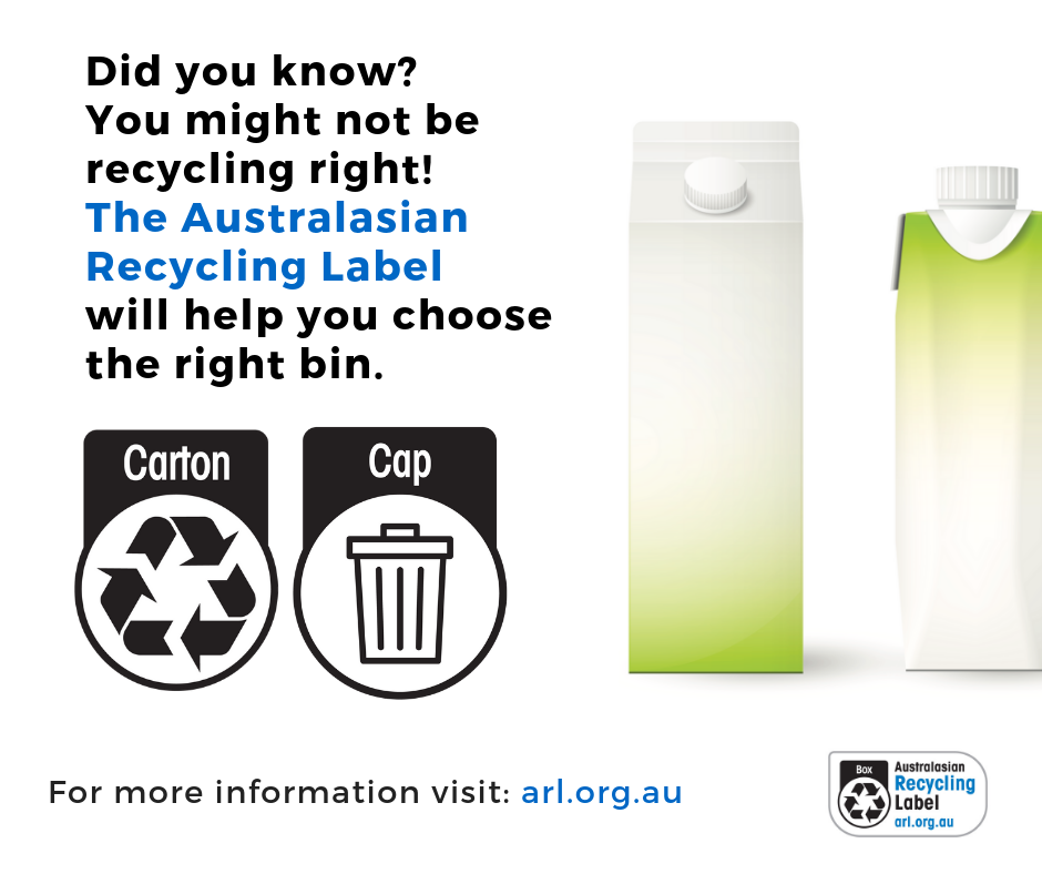 Australasian Recycling Label will help you choose the right bin
